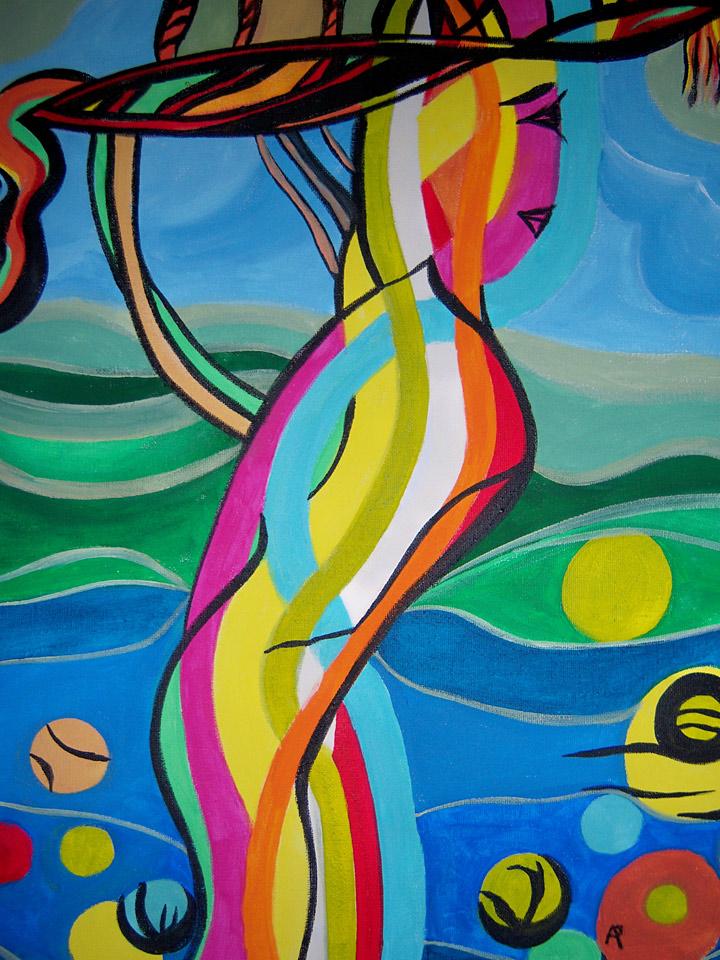 Une des oeuvres actuellement exposées sur Fugoa.com